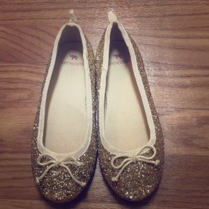 Glittery Crewcuts size 13 shoes